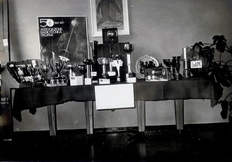 LOCALIZZAZIONE RADIO ALB. STEINER TROFEO I3ZBN 30-10-1977